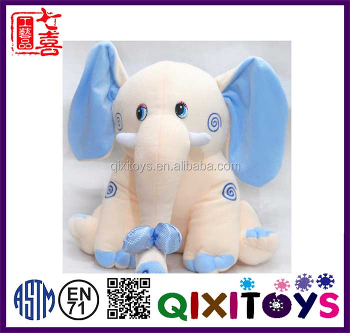 New design plush and stuffed elephant toys with big ears
