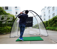 make In China hitting target cage chipping golf practice net