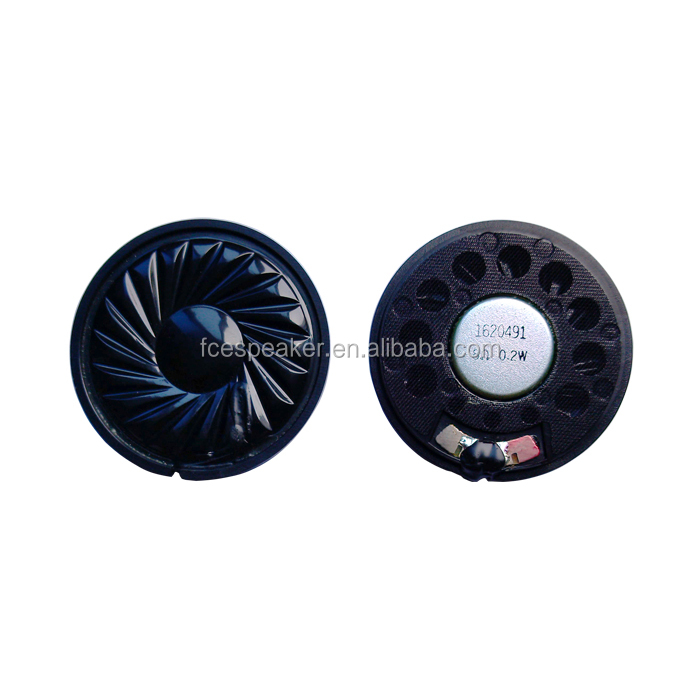 40mm 8ohm 0.2W headphone parts speaker