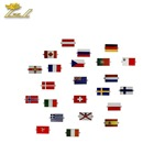 National Flag Pin Free Design Badges no Minimum Custom Pin Logo