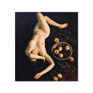 Popular home decor young girl pictures sexy nude canvas oil painting