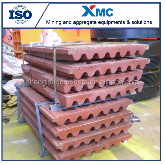 Professional Manufacturing Coal Mine Jaw Plate for Jaw Crusher Spares, Jaw Plate
