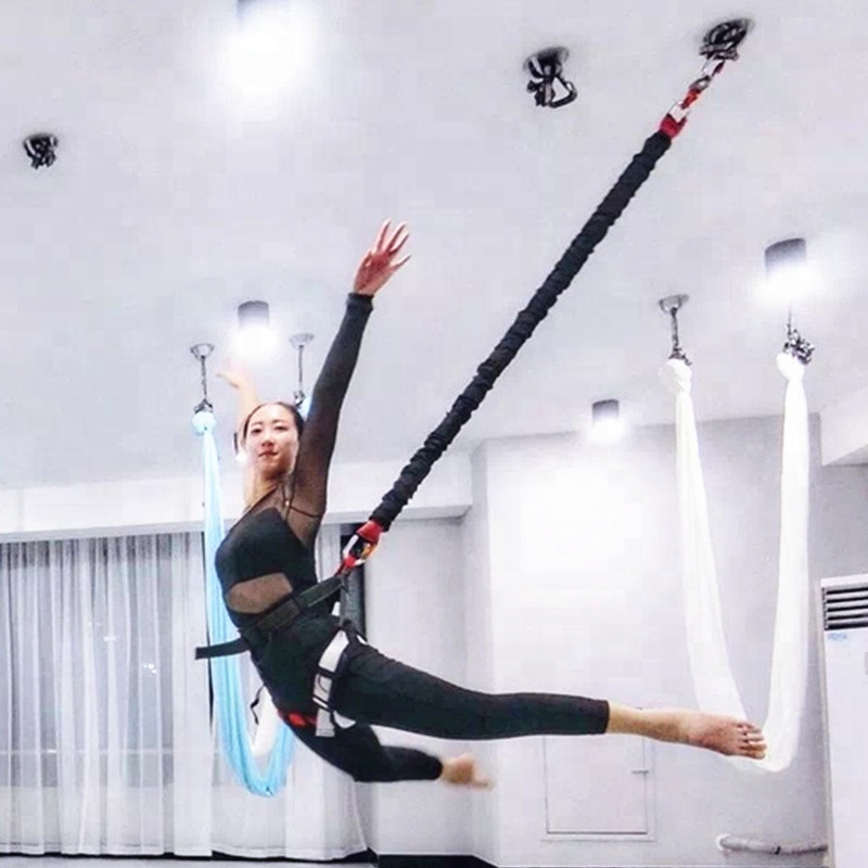 Prior Fitness 2019 New! High Strength Bungee Cord Bungee Jump Full Set Workout Gym Bungee Cord 100% Quality Guarantee фото