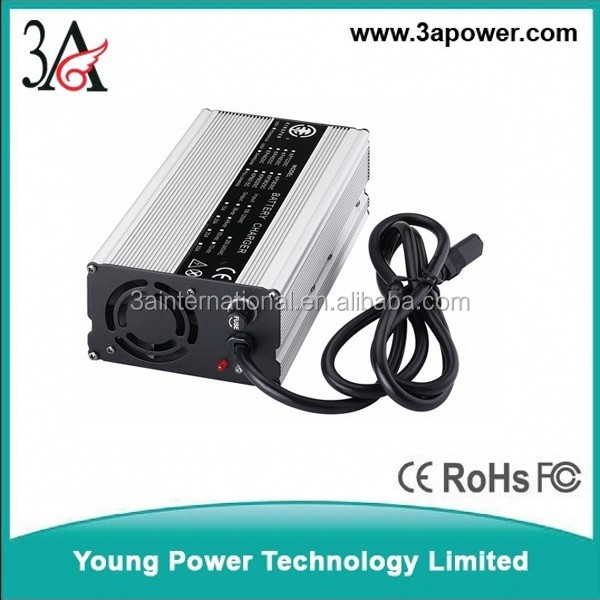 20S 24s 60v 72v 5a battery charger with fan fuse