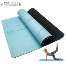 High-end Deluxe PU TPE Yoga Mat with Private Label