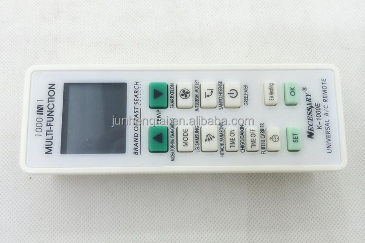 Smart K-1000e Universal Air Conditioner Remote Control Codes - Buy  Universal Air Conditioner Remote Control Codes,Air Conditioner  Remote,Supply Air