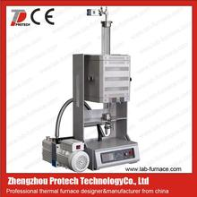 Compact vertical quartz tube furnace split tube furnace