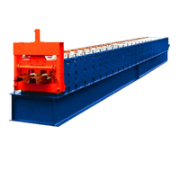 cold rolled aluminum floor deck roll forming machine