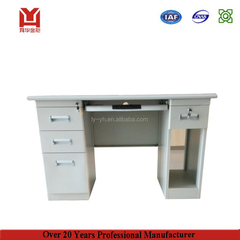 Simple Style Modern Steel Office Furniture Photos Design Catalog Metal  Computer Table Models With Prices