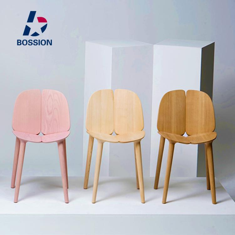 Nordic Moderne Einfache Alle Massivholz Esszimmerstuhl Designer Kreative  Persönlichkeit Wohnzimmer Esszimmer Stühle Stühle