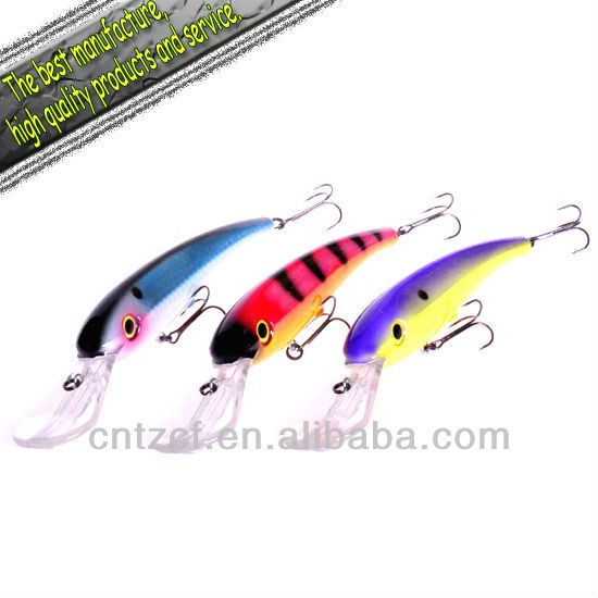 2012new high quality best selling hard metal <strong>fishing</strong> lure Deep Demon 275mm 116g