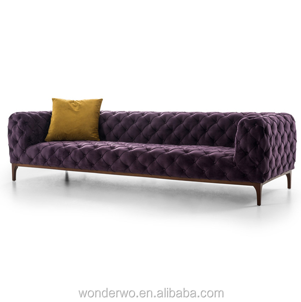 Chester Moon Sofa Tufted Nubuck Leather Sofa Button Tufted All Over Sofa  Living Room Furniture - Buy Sofa,Chesterfield Sofa,Living Room Furniture ...