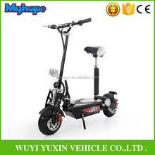 2017 New design 1600w 48v foldable evo electric scooter with CE for Adults