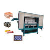 Automatic egg crate rotary tray making machine