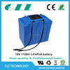 rechargeable li-ion battery pack 12v 30ah with long cycle life for Electric Car, HEV, UPS, Solar energy storage AGV