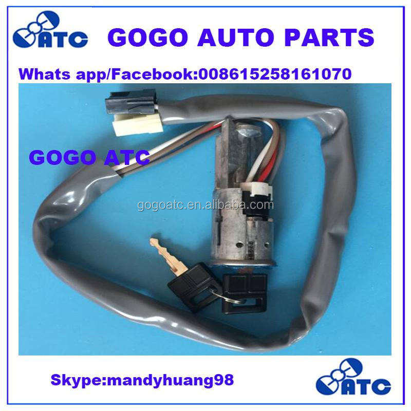 4162.29 IGNITION SWITCH and motorcycle STEERING LOCK WITH KEYS for PEUGEOT J9 80-87