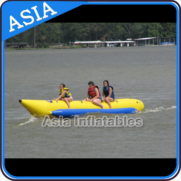 InflatableOcean Toys Water Ski Boat /Inflatable Banana Boat For Sale