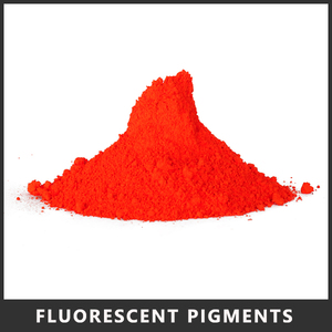 Neon Red Fluorescent Pigments