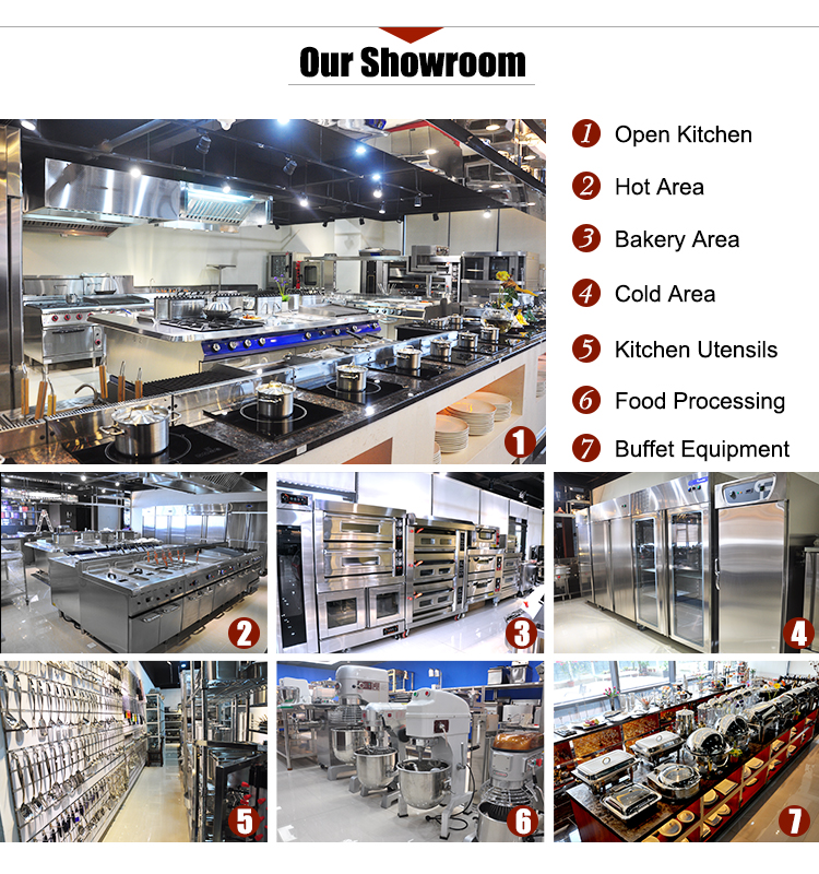 China Refrigeration Equipment Supermarket Showcase Used Refrigerators