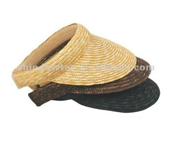 Wheat Straw Visor Cap b179af25bbd