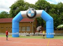 BMW blue inflatable advertising arch 2012