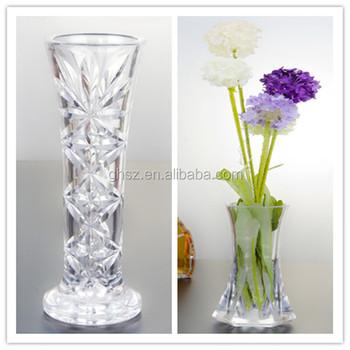 Fashionable Custom Tall Acrylic Clear Plastic Vase For Decor Buy