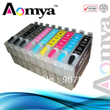 T0540/1/2/3/4/7/8/9 refillable ink cartridge for epson R2000