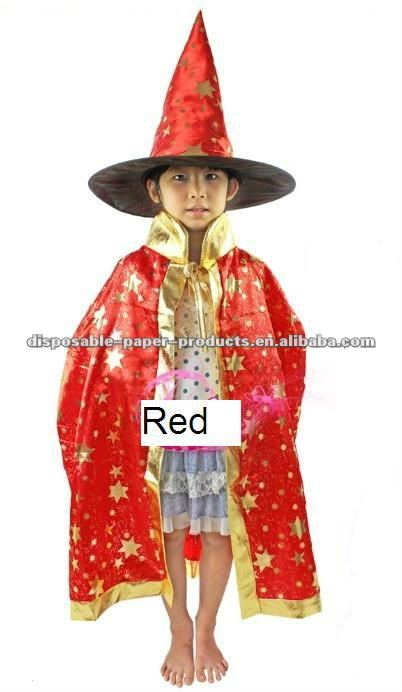 Kids Costumes Girls Boys Halloween Party Dress Up Wizard Hat Cosplay Cloak Set Red Star 5 -10 Year - Buy Red Star Cape Hat Party CostumeRed Wizard Cape And ...  sc 1 st  Alibaba & Kids Costumes Girls Boys Halloween Party Dress Up Wizard Hat Cosplay ...