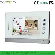 "7"" touch screen digital TCP/IP android system sip intercom device"