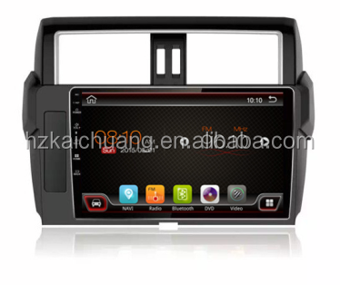 "10.1"" Car Radio fit to <strong>Prado</strong> 2013 to now cars with rear Camera support Bluetooth GPS and more functions for Navigation"