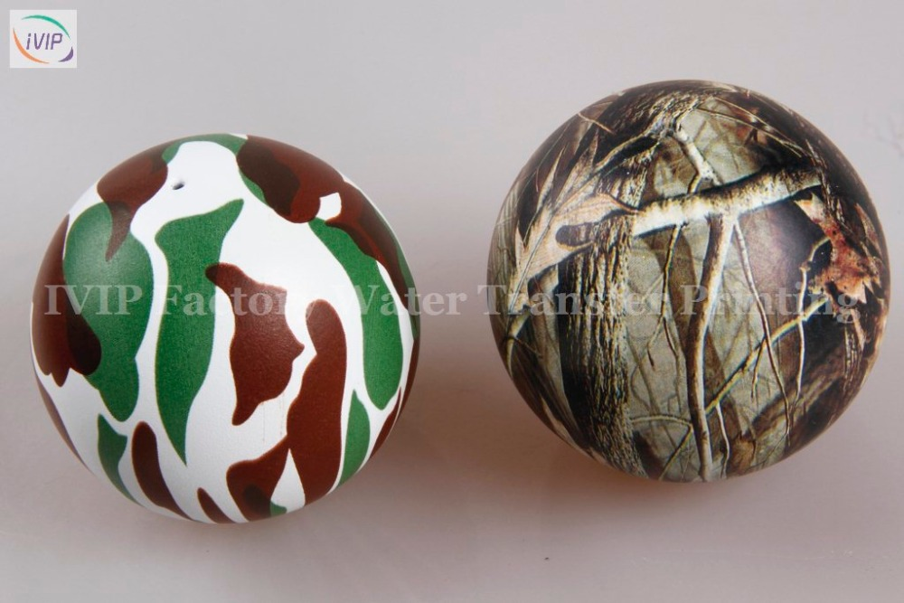 Camouflage pattern Ball Water transfer hydrographic printing AP2463
