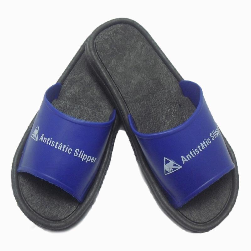 Ad ESD PVC pantoffel antistatisch blau sicherheit pantoffel gleitschutz ESD pantoffel