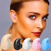 New Hand-free Wireless Bluetooth Earphone Mini Bluetooth Headset Headphone with Mic 22H Music Play Time for Mobile Phones