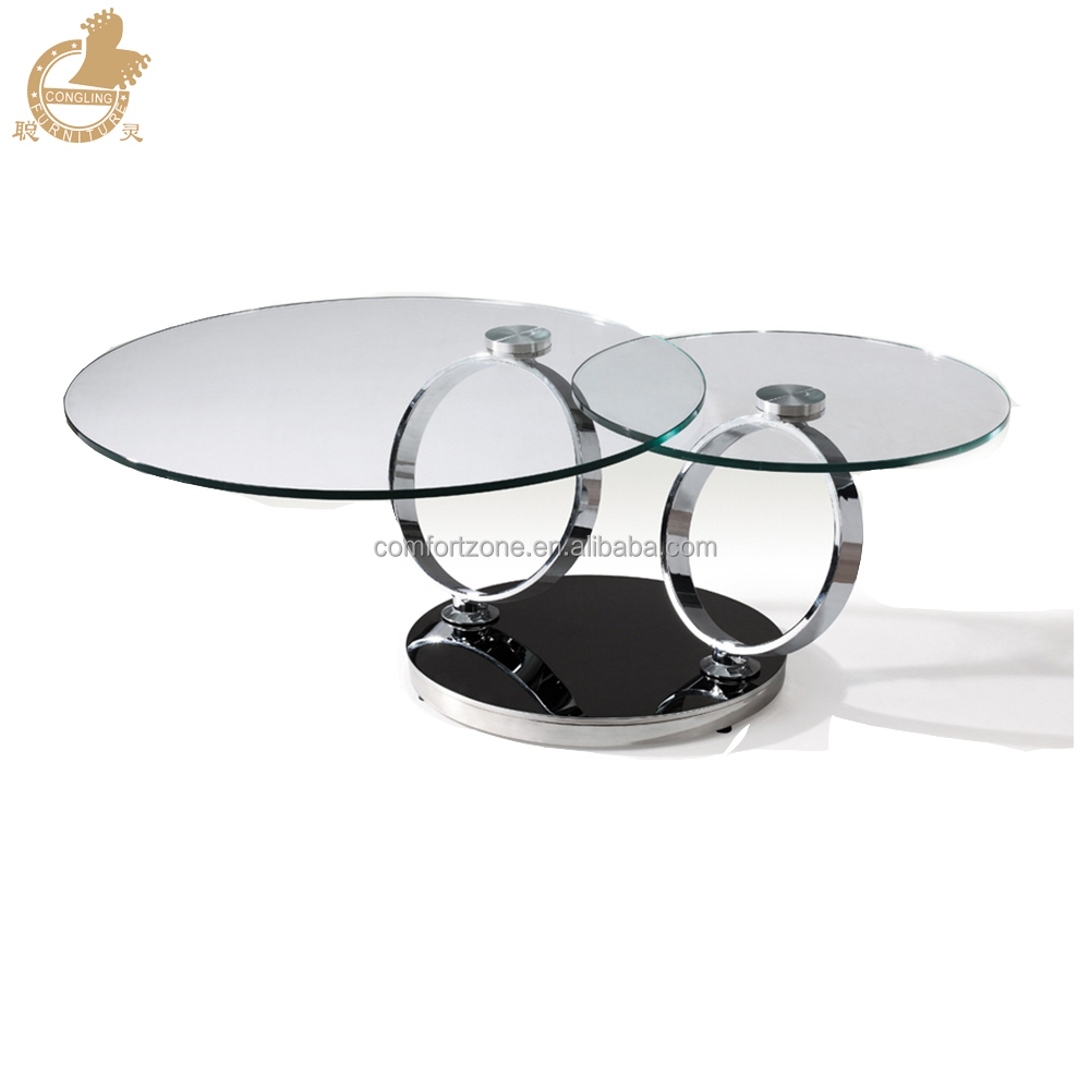 Ordinaire C8041 Movable Swivel Glass Coffee Table Models For Home Using   Buy Movable  Glass Coffee Table,Glass Coffee Table Models,Swivel Glass Coffee Table ...
