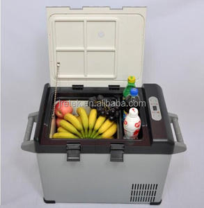 12V 24V Bcd25 Portable DC Truck Car Refrigerator Freezer Fridge