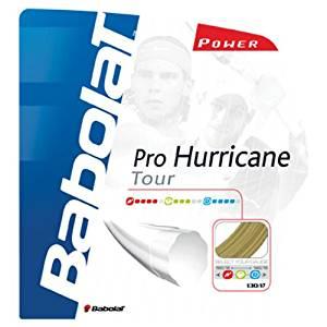 Babolat Pro Hurrican Tour 16-Gauge Tennis String (Yellow)