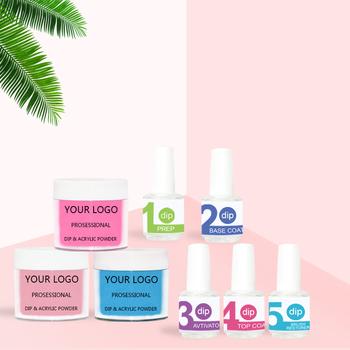 Wholesale Dipping Acrylic Gel Nails French Nail Dip Powder Kits For
