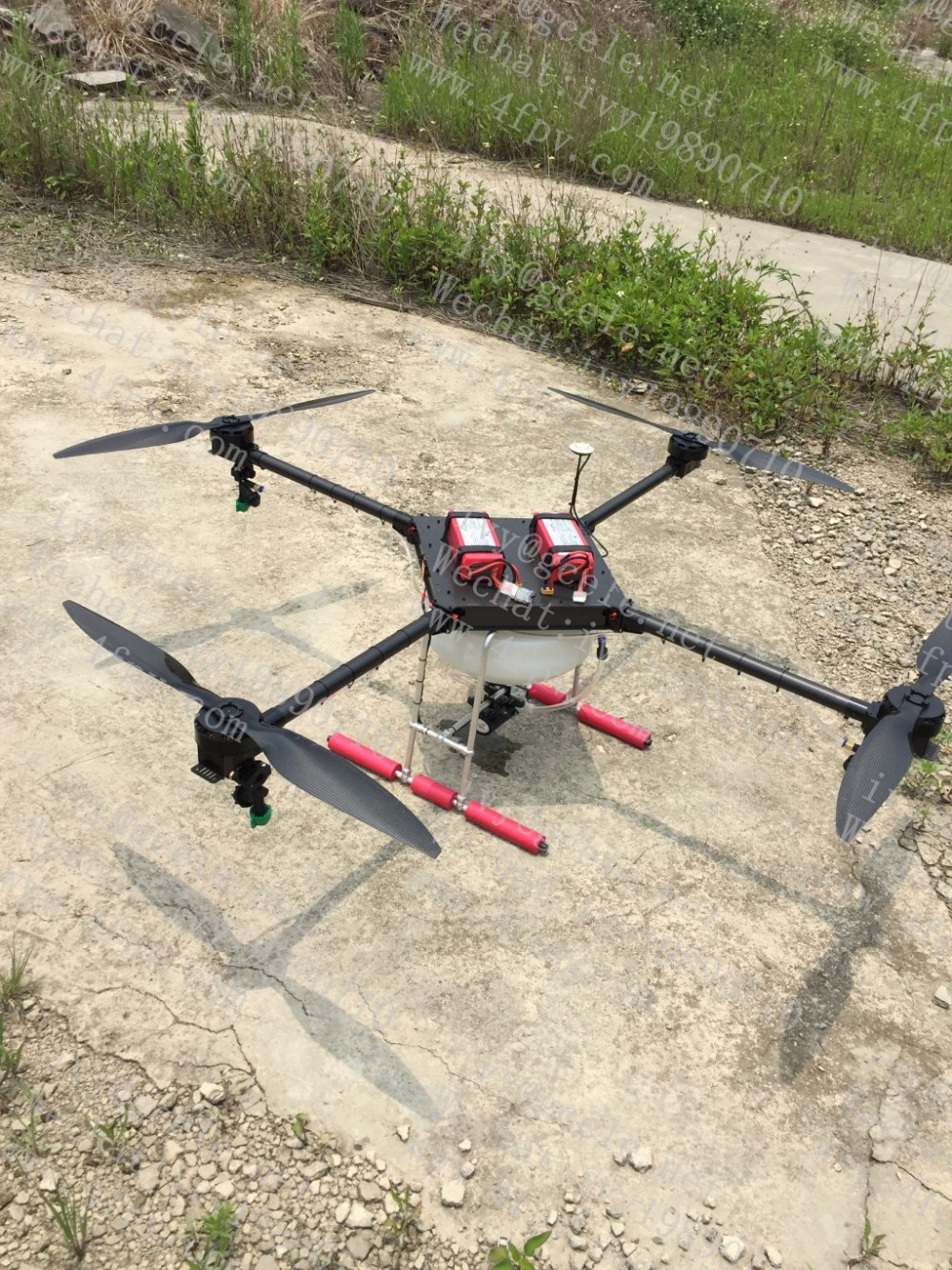 Farm Spray Machine Agricultural Drone With Long Flight
