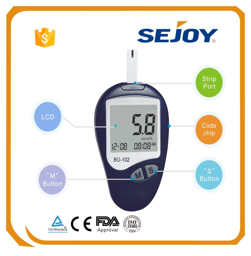 China Supplier Digital Blood Glucose Testing Blood Sugar ...