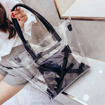 Las Mujeres Top Claro Manejar Bolsas Bolso De Mano De Pvc Verano Playa Impermeable Transparente Bolso De Hombro Bolso Bolsa De Buy Etiqueta: Bolsa