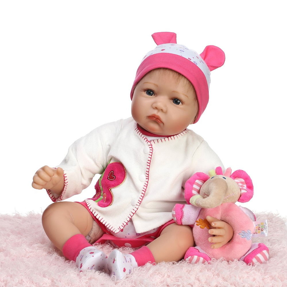 Soft Cloth 22Inch Baby Doll Clothes Sweet Lovely Romper