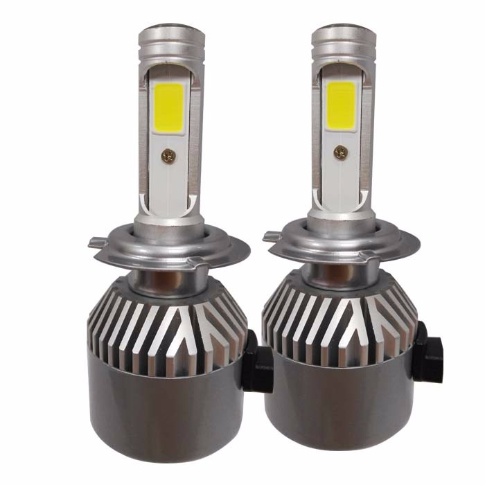For car Led light! Single/dual beam ETI car h4 led headlight bulb for H4 9004 9007 h13 ford cruze VW Toyota car led head