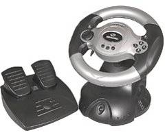 GAME ELEMENTS GGE904 HV-5 Racing Wheel for Pc
