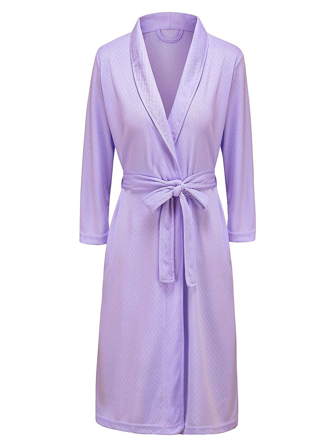 Champion Mens Dressing Gown Checkered Bath Robe Poly Cotton