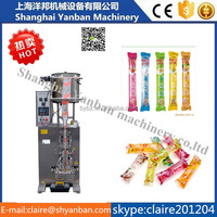 hot sale YB-330Y juice /milk /liquid stick packing machine, automatic liquid packaging machine