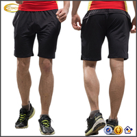 Ecoach Wholesale New summer casual black Breathable short length elastic waist black shorts casual custom made men gym shorts