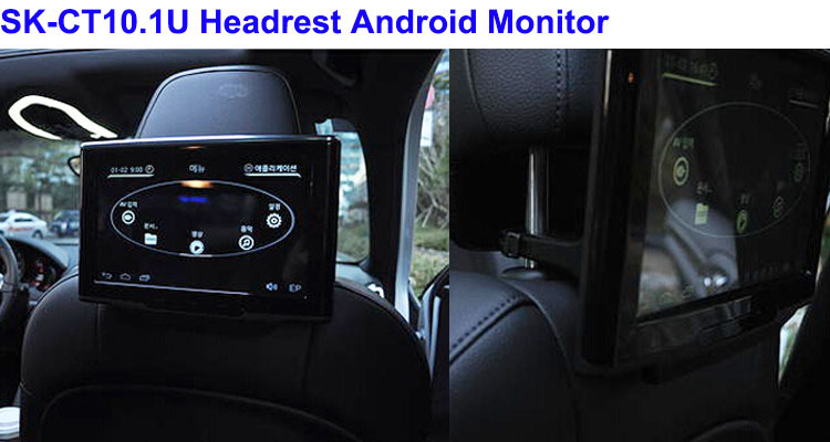 Rear Seat 10 Inch Tft Lcd Car Tv Monitor With Usb/sd Card Slot ...