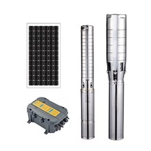 AC DC input best quality dc solar pump submersible