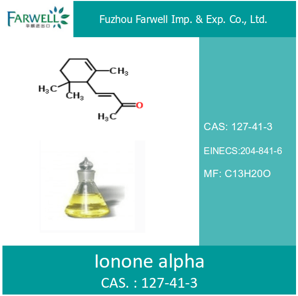 Farwell Ionone alpha with 95% min CAS 127-41-3