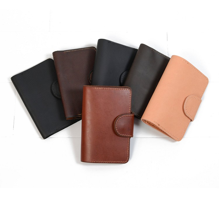 Journal handmade travel field notes real bufallo leather passport holder personalized initials with peen loop for men and women